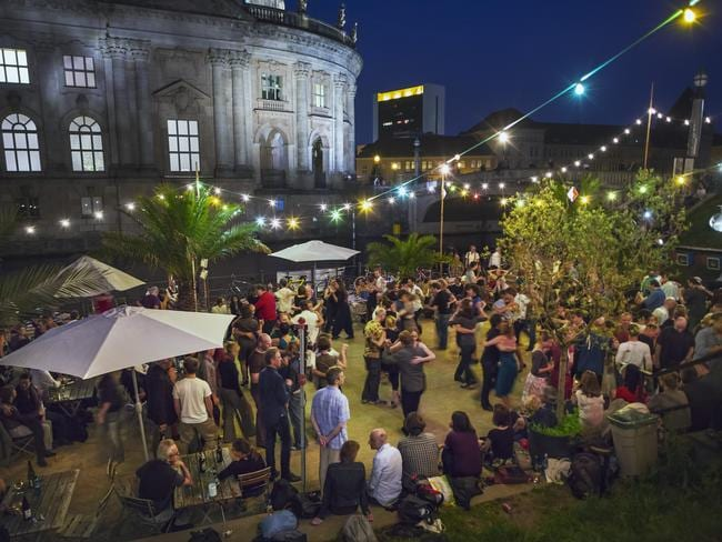 One of Berlin's summer night spots. Picture: Jon Hicks/Corbis