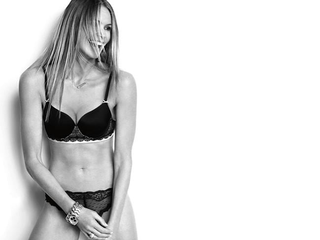 Elle Macpherson for The Body Elle Macpherson Intimates Collection.