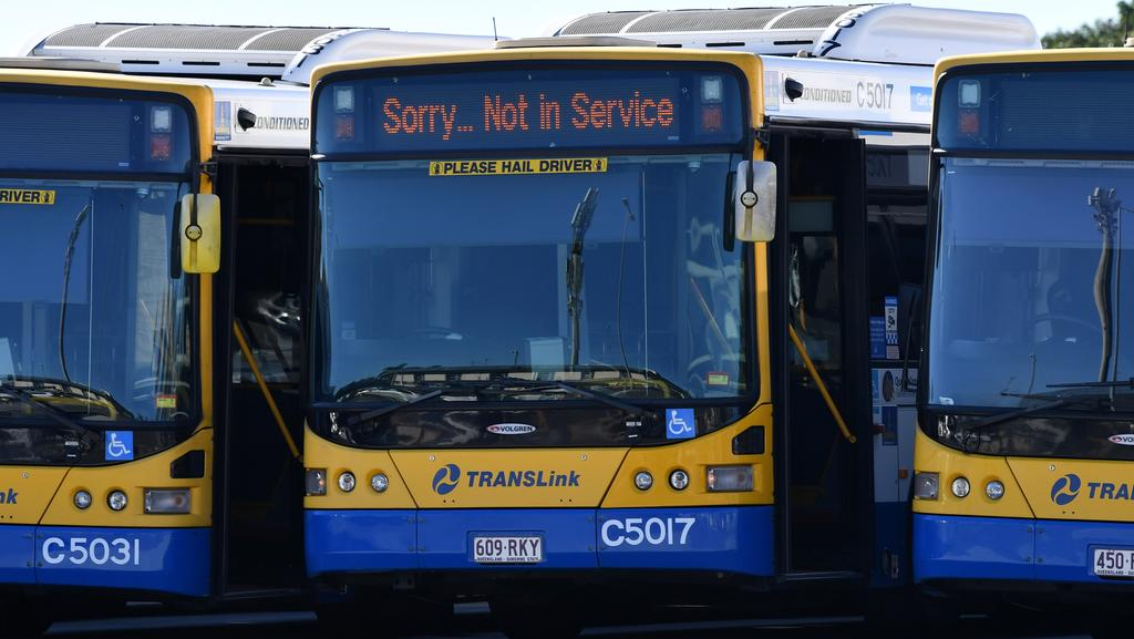 brisbane city council bus drivers to resume strike action