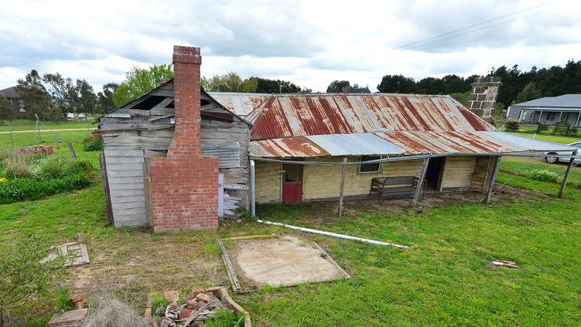 The childhood home of Ned Kelly sold on the weekend. Picture: Derrick den Hollander.