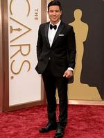 Mario López on the red carpet at the Oscars 2014. Picture: Getty