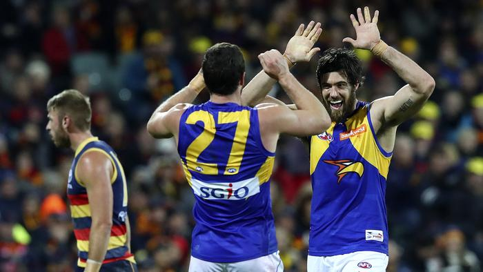 AFL - ADELAIDE CROWS v WEST COAST EAGLES