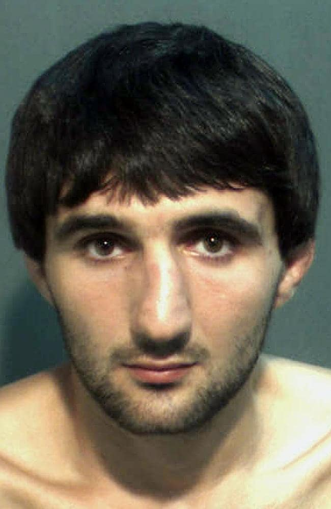 FILE - This May 4, 2013 file police mug provided by the Orange County Corrections Department in Orlando, Fla., shows Ibragim ...