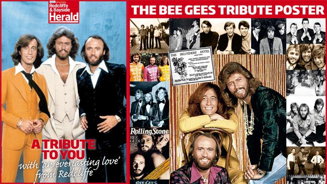 Grab your Bee Gees poster at today's tribute unveiling and hold them high to show Barry Gibb your love and appreciation.