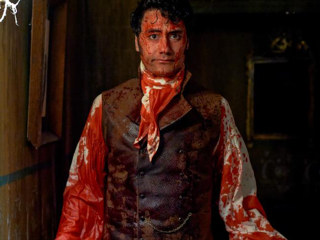 Bloody funny ... What We Do in the Shadows from Taika Waititi and Jemaine Clement.