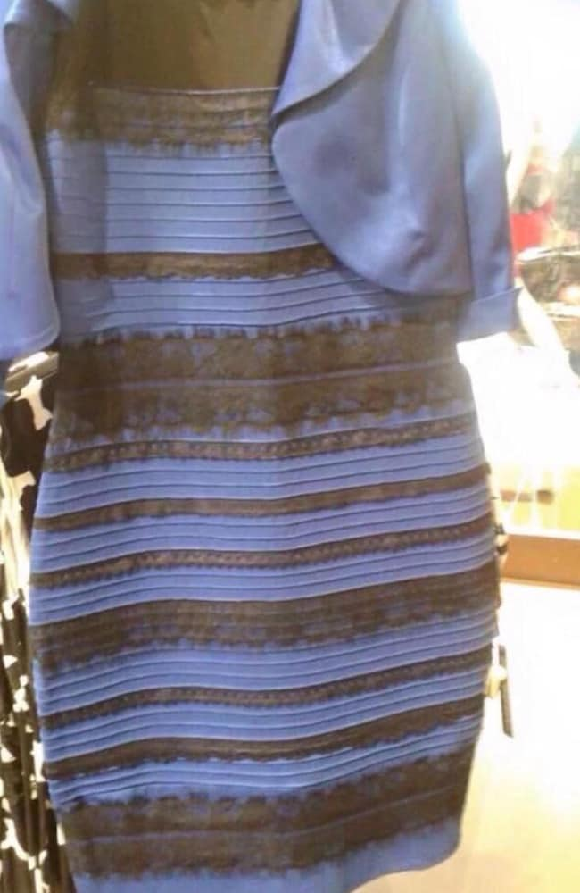 Initially a Facebook post that received fewer than 20 likes, this optical illusion's journey became one of the most talked-about stories of 2015. Is the dress Gold and White or Black and blue?