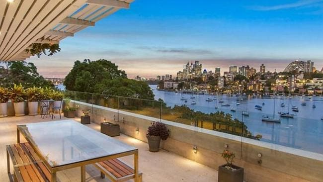 In Neutral Bay, you get harbour views and three bedrooms for a similar price. Picture: realestate.com.au