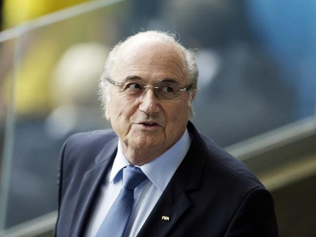 You've been warned ... the post threatening to bomb the Qatar World Cup was directed to FIFA president Sepp Blatter.