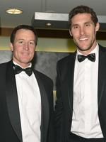 Social West Coast Eagles Best and Fairest Crown Perth 5.10.2012 John Worsfold and Darren Glass