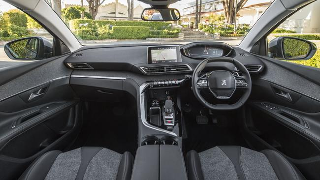 The interior styling is a fresh take for SUVs, but quality was patchy in parts. Picture: Supplied.