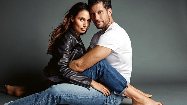 Sam and Snezana on their untraditional fairytale.