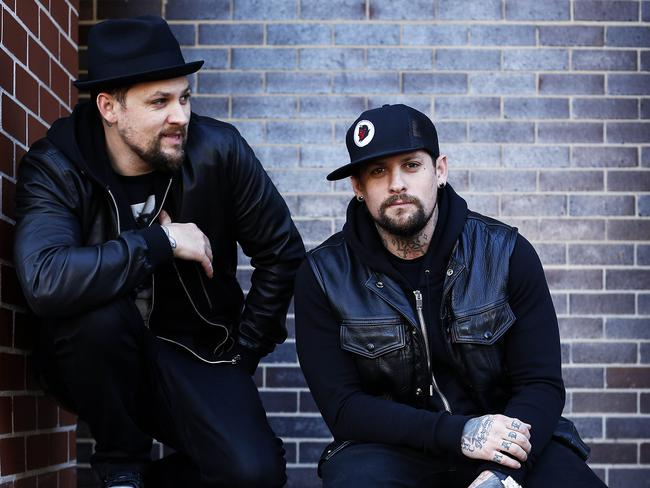 Madden Brothers Joel and Benji.