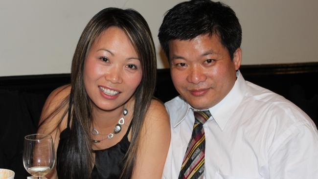 Hai-Sam Lau, right, was 49 and had only moved to Australia a year before he died.