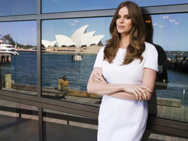 Beautiful ... model Robyn Lawley is a model for Pantene. Picture: Justin Lloyd