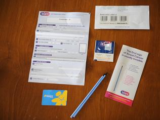 Bowel Cancer Screening kit.