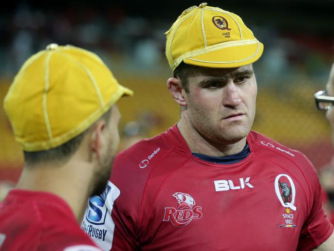 Former Wallabies captain James Horwill is fighting to regain a Wallabies starting spot.