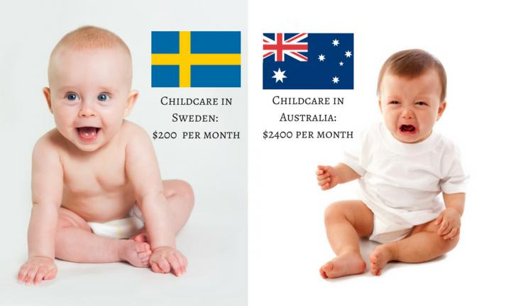 Childcare around the world - how does Australia compare?