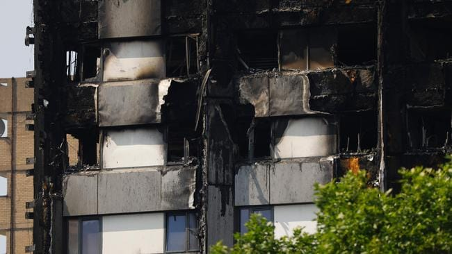 Grenfell Tower Fire British Ministers Reveal Building
