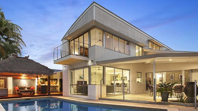 THERE were six registered bidders vying for this property at 54 Lancelin Drive, Mermaid Waters. Picture: realestate.com.au