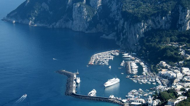 Capri, Italy - where billionaires go to dock their yachts. Picture: Wikipedia Commons