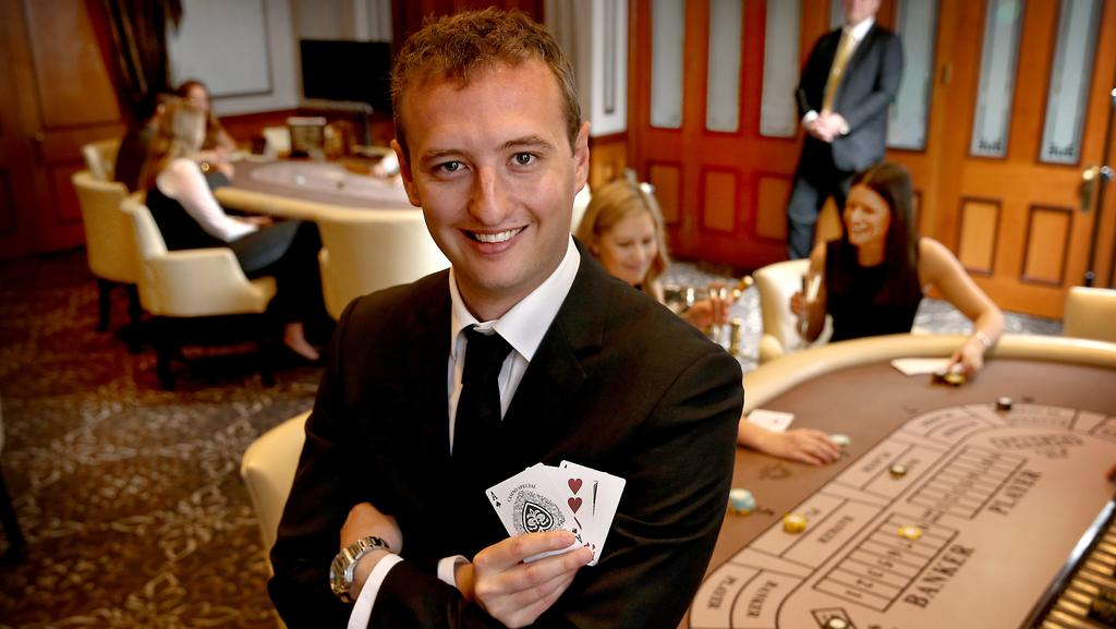 occasional high roller in casino