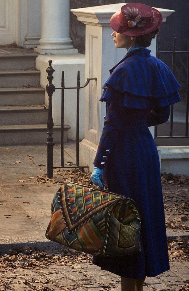 Emily Blunt stars as the new Mary Poppins.