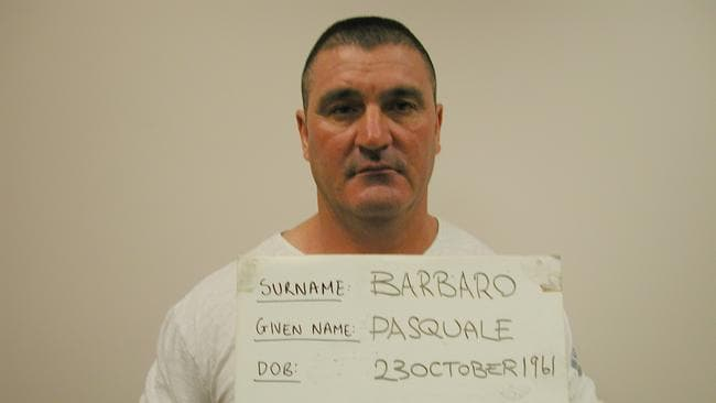 The Pasquale Barbaro sentenced in 2012 jail over the world's biggest ecstasy bust.