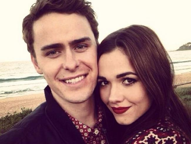On-screen AND off-screen lovers, Home and Away's Demi Harman and Alec Snow got together this year. Picture: Instagram