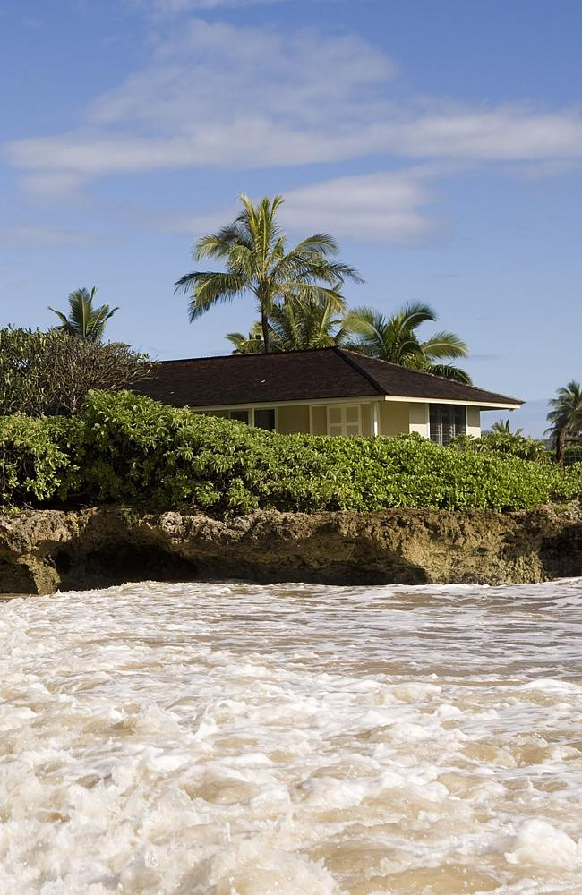 Mr Obama has visited this holiday home in Hawaii. He pays for it himself though.