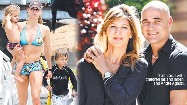 Andre Agassi And Steffi Graf Its All About The Kids