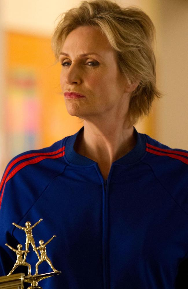 That glare ... Glee's Sue Sylvester.