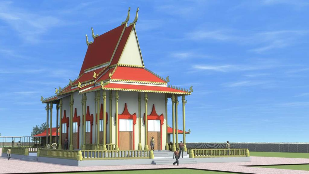 this is how new buddha temple in city s north would look. Black Bedroom Furniture Sets. Home Design Ideas