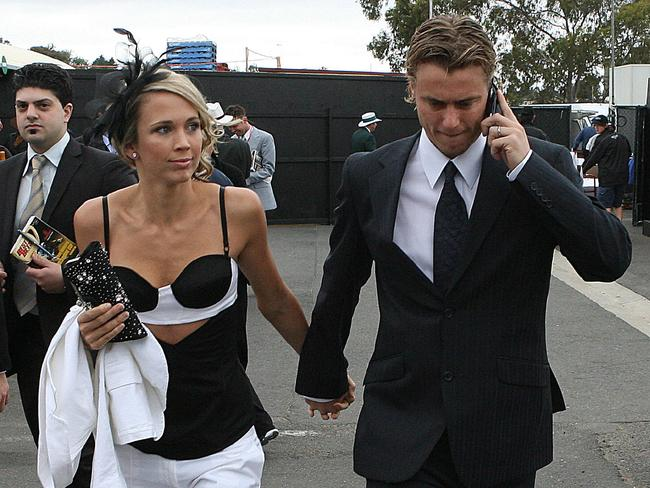 Bec Hewitt's 'interesting' 2006 races outfit.