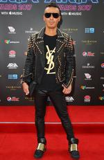 SYDNEY, AUSTRALIA - NOVEMBER 28: Anthony Callea arrives for the 31st Annual ARIA Awards 2017 at The Star on November 28, 2017 in Sydney, Australia. (Photo by Lisa Maree Williams/Getty Images for ARIA)