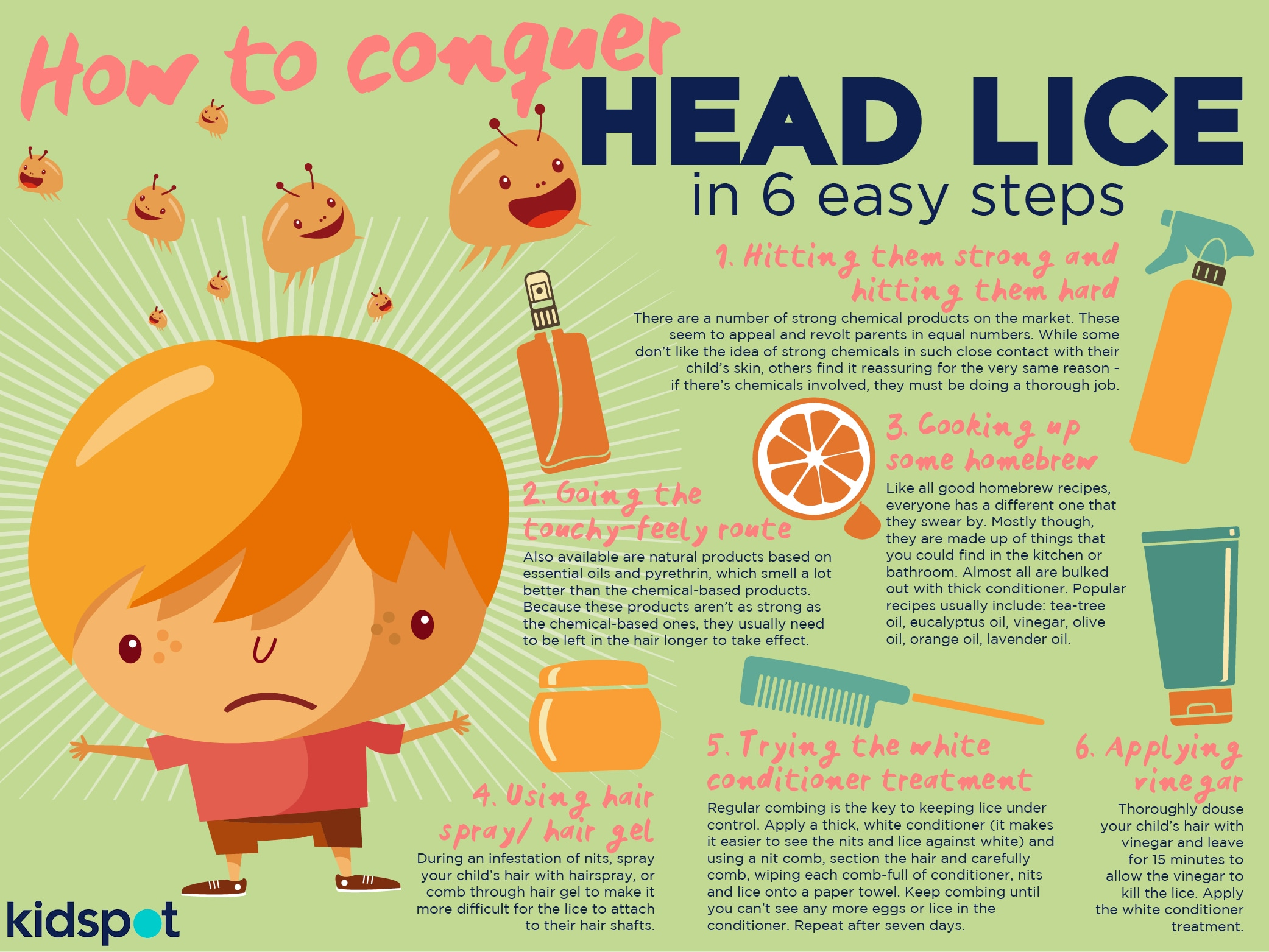 how to avoid getting head lice