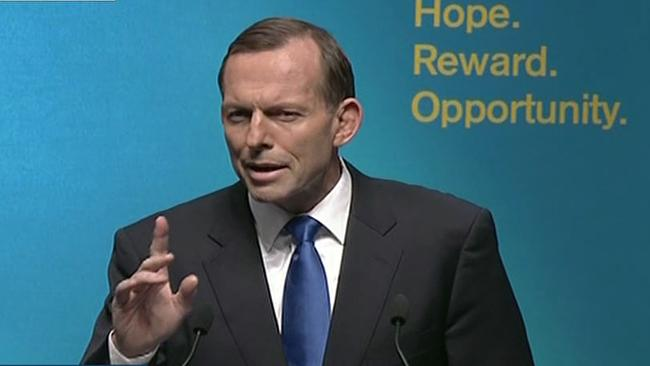 Opposition Leader Tony Abbott says Australia needs a change of government to grow and prosper.