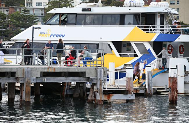 Manly Fast Ferry commuters can expect a better experience from the takeover Picture: Adam Yip