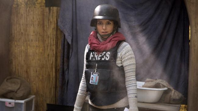 Tina Fey portrays Kim Baker in a scene from Whiskey Tango Foxtrot. Picture: AP