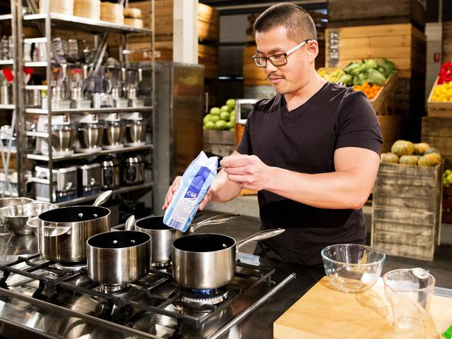 Some apprentices think shows like MasterChef are giving an unrealistic overview of what it's like to be in a kitchen. Supplied: Channel Ten