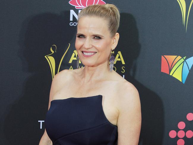 Selling Houses Australia's design expert Shaynna Blaze arrives at the AACTAs. Picture: AAP Image/Ben Rushton