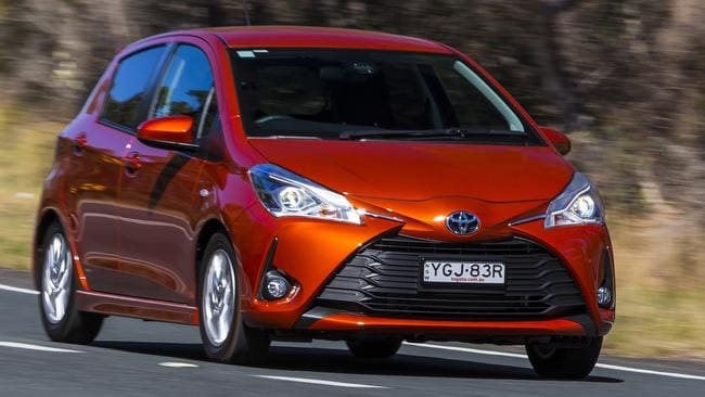 The Toyota Yaris has received its second facelift in six years. Photo: Supplied.
