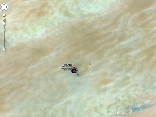 It's in the middle of the desert. Picture: Google