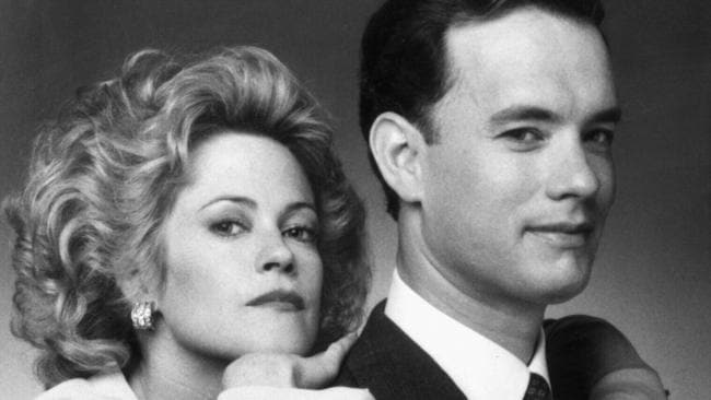 Melanie Griffith and Tom Hanks.
