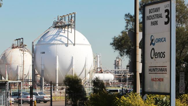 The Orica plant at Port Botany was also the subject of controversy following a spill.