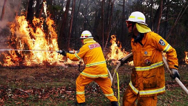 Fire lovers know if they light a fire, they can mobilise huge numbers of firefighters, police, emergency service responders and the media. Picture: News Limited