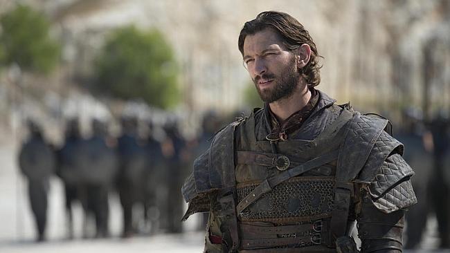 Daario Naharis looks ... different. His character was recast. (Game of Thrones Season 4 is coming April 7 to Showcase on Foxtel)