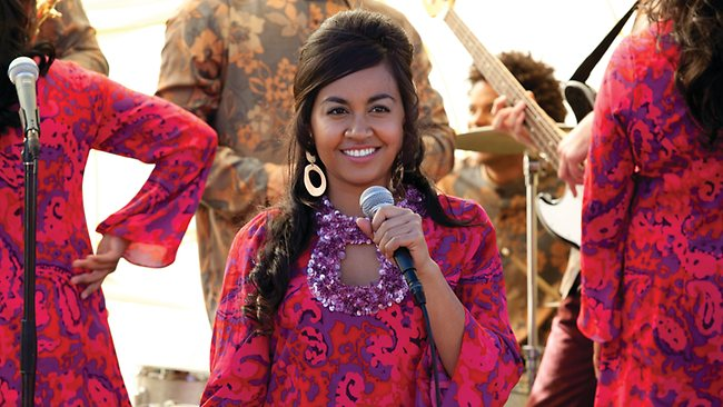 Julie (Jessica Mauboy) in a scene from Wayne Blair's The Sapphires. A Hopscotch/ Entertainment One film release..In cinemas August 9, 2012.For more info ph 02 8303 3800