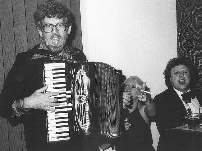 Public figure ... Rolf Harris during the opening of Lasseter's Hotel Casino in 1981.
