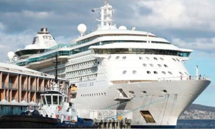 Man arrested for trying to throw his wife off cruise ship