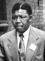 PIRATE: South African President Nelson Mandela shown 04/11/61. AP Photo. General / Alone Historical